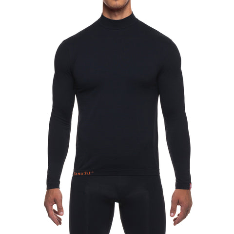 BE SEEN Men's Infrared Running T-Shirt L/S Crew Neck