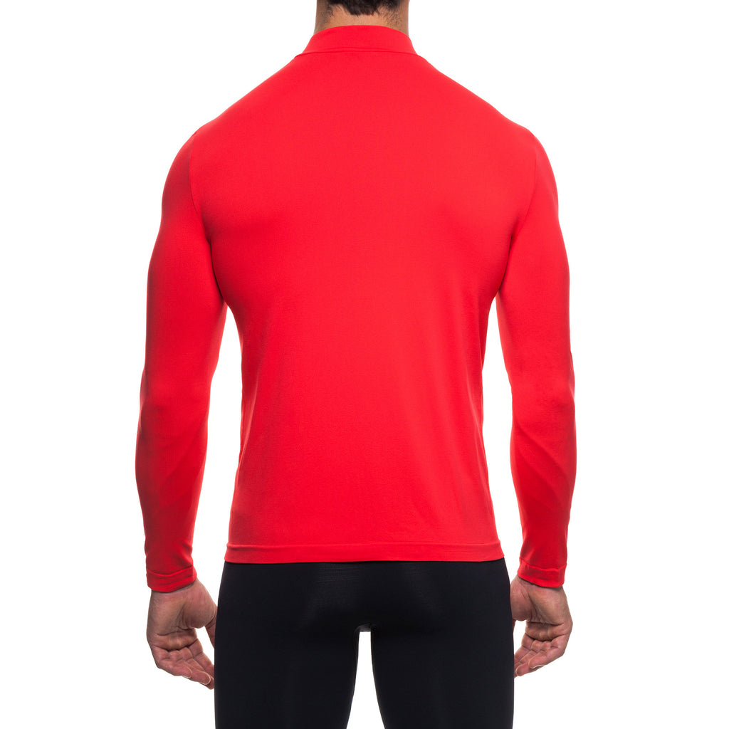 Men's Infrared [AR] T-Shirt L/S Mock Neck