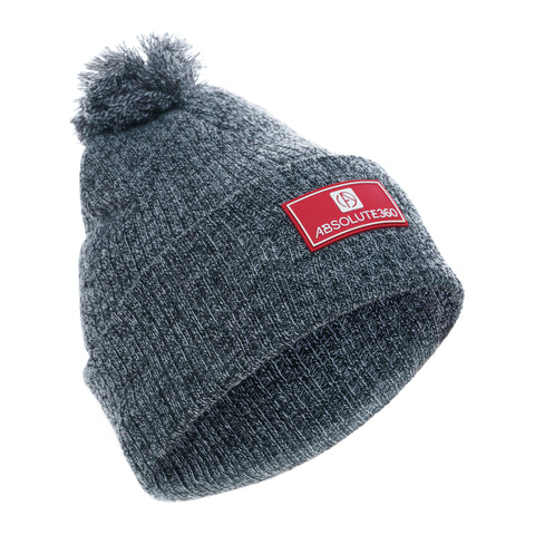 Rubber Patch Beanie Hat