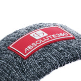 Rubber Patch Bobble Hat