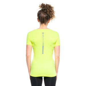 [BE SEEN] Women's Infrared Running T-Shirt S/S Scoop Neck
