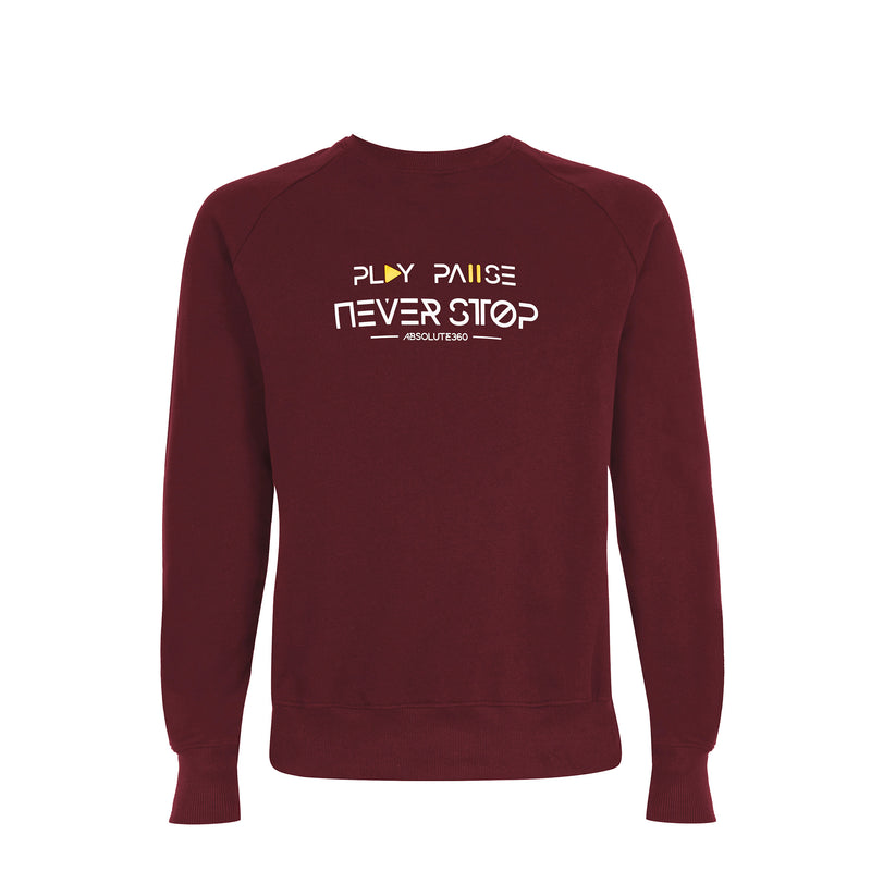 Play Pause Never Stop [TXT] Sweatshirt