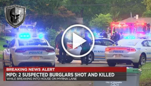 2 Burglars Shot and Killed