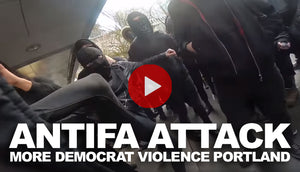Antifa Attack - More Democrat Violence in Portland