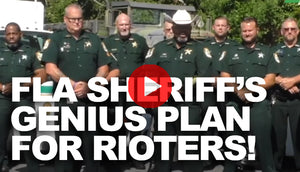 Florida Sheriff Has Genius Plan for Dealing with Rioters
