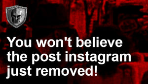 You won't believe what instagram just removed for going against community standards
