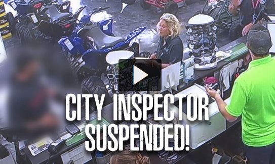 Jax City Inspector Gets Suspended