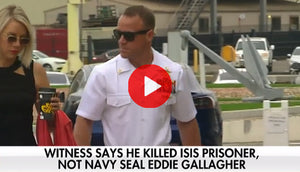 Witness admits he killed ISIS prisoner, not Navy SEAL Eddie Gallagher