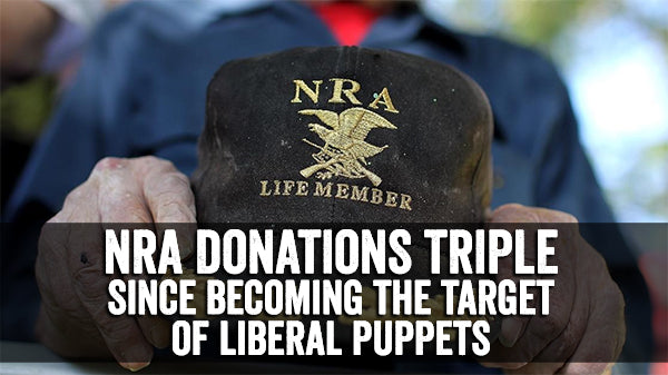 NRA donations tripled & AR15 Sales spike after Florida kids become activists