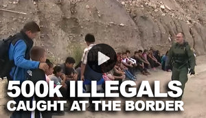 More that 500k already caught at the border