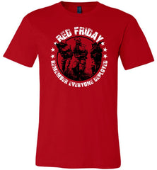 Wear Red Fridays - Remember Everyone Deployed