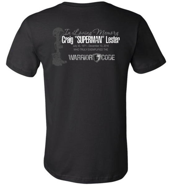 "Craig ""Superman"" Lester Memorial Shirt"