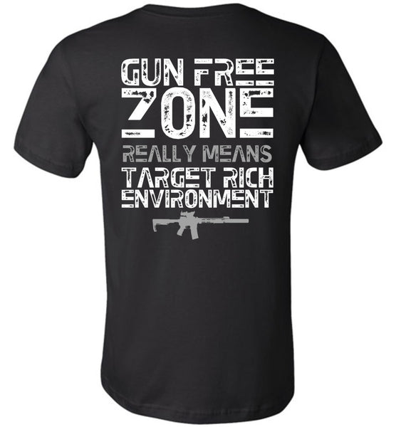 Gun Free Zone - Warrior Code