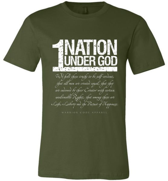 1 Nation Under God - Warrior Code