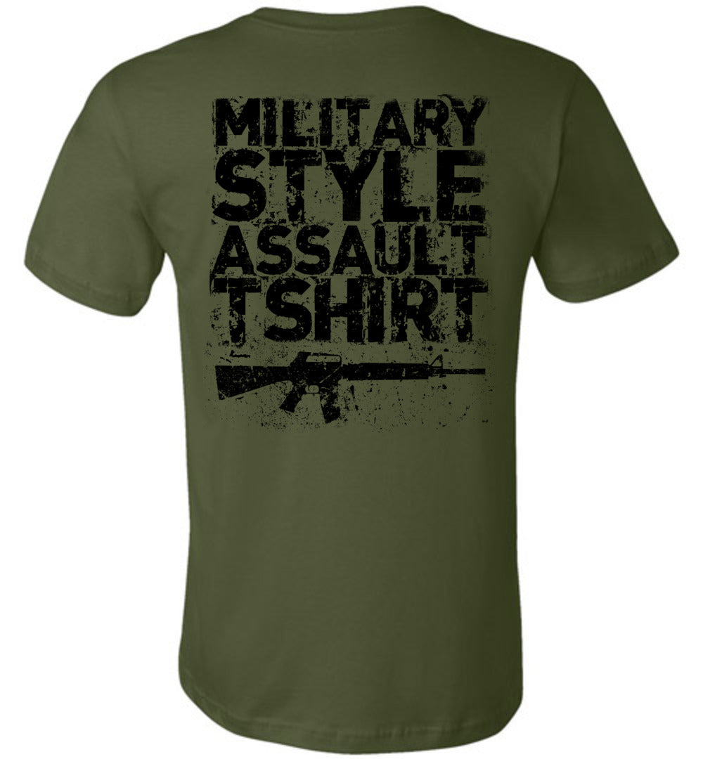 Assault Tshirt - Warrior Code
