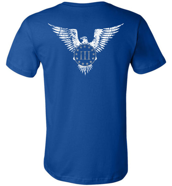 Three Percenter Eagle Shirt - Warrior Code