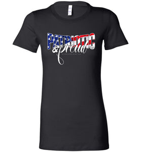Patriotic & Proud Women's Tee