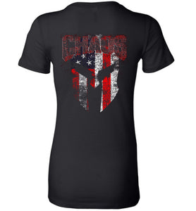 Chaos Women's Tee - Warrior Code