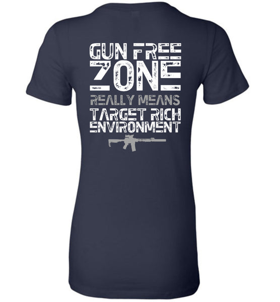 Gun Free Zone Women's - Warrior Code