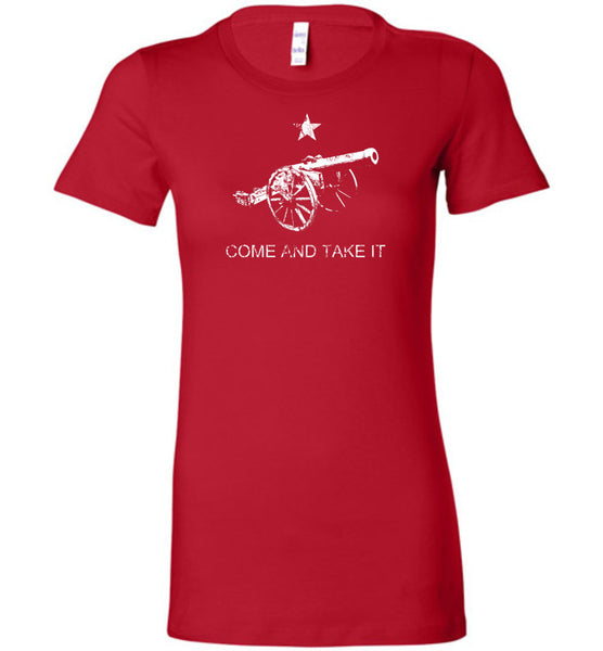 Come and Take It Ladies T-Shirt - Warrior Code