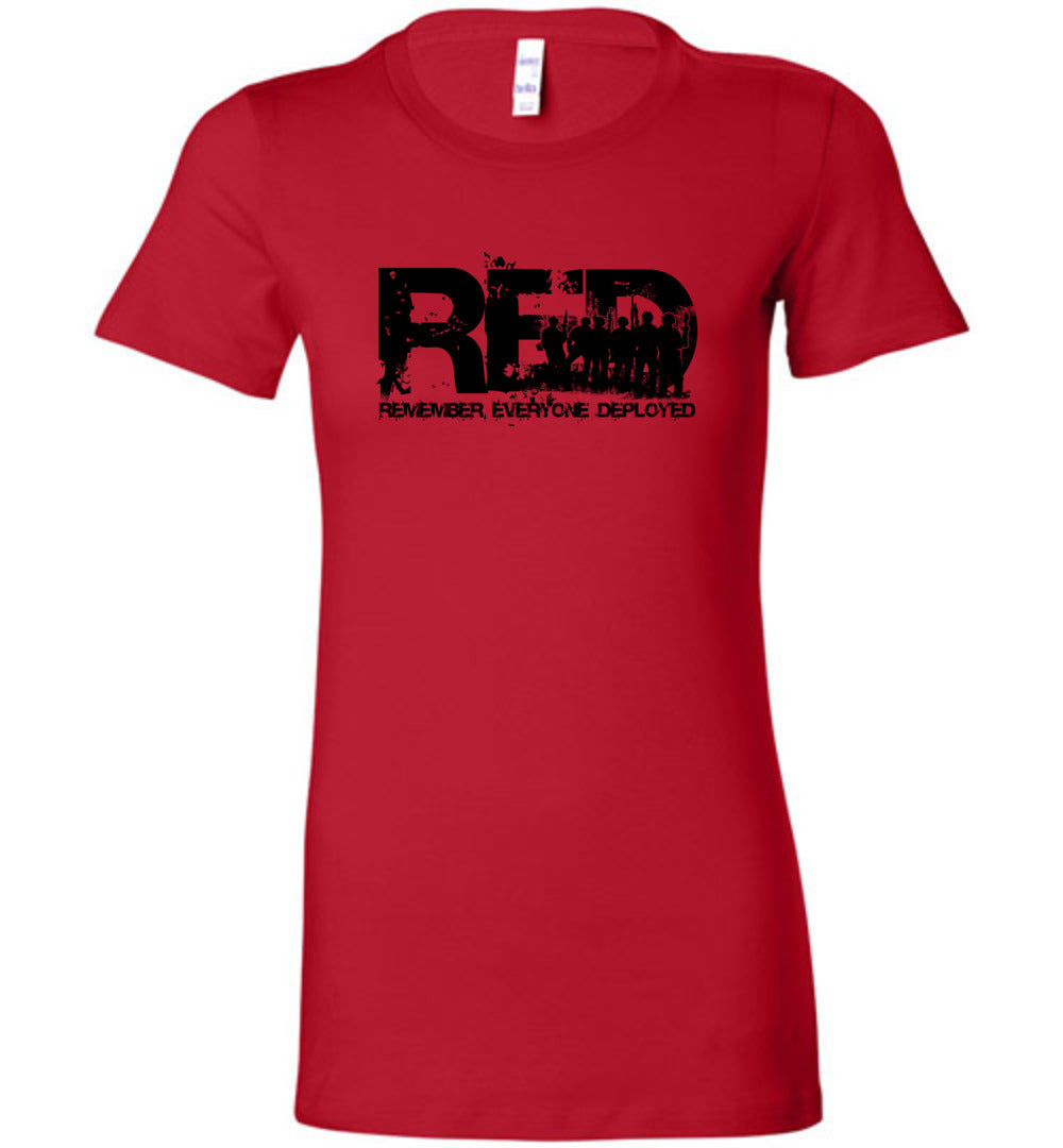 Red Friday Women's - Warrior Code