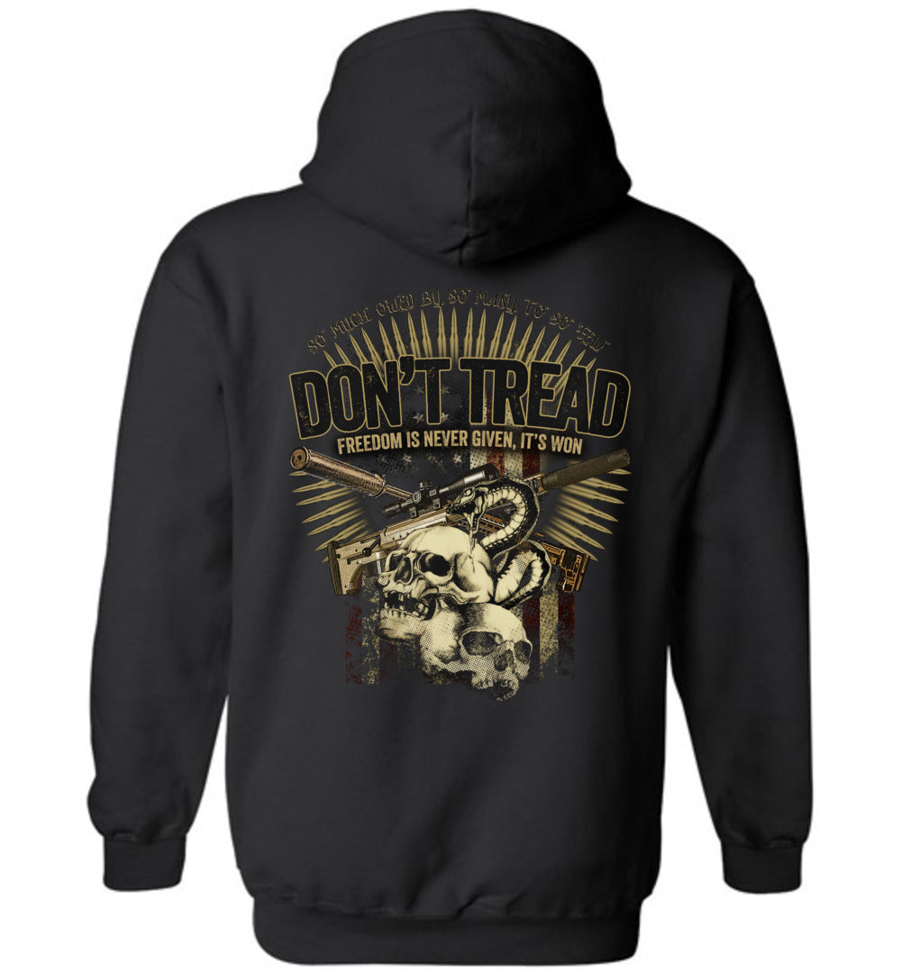 Don't Tread (Freedom) Hoodie