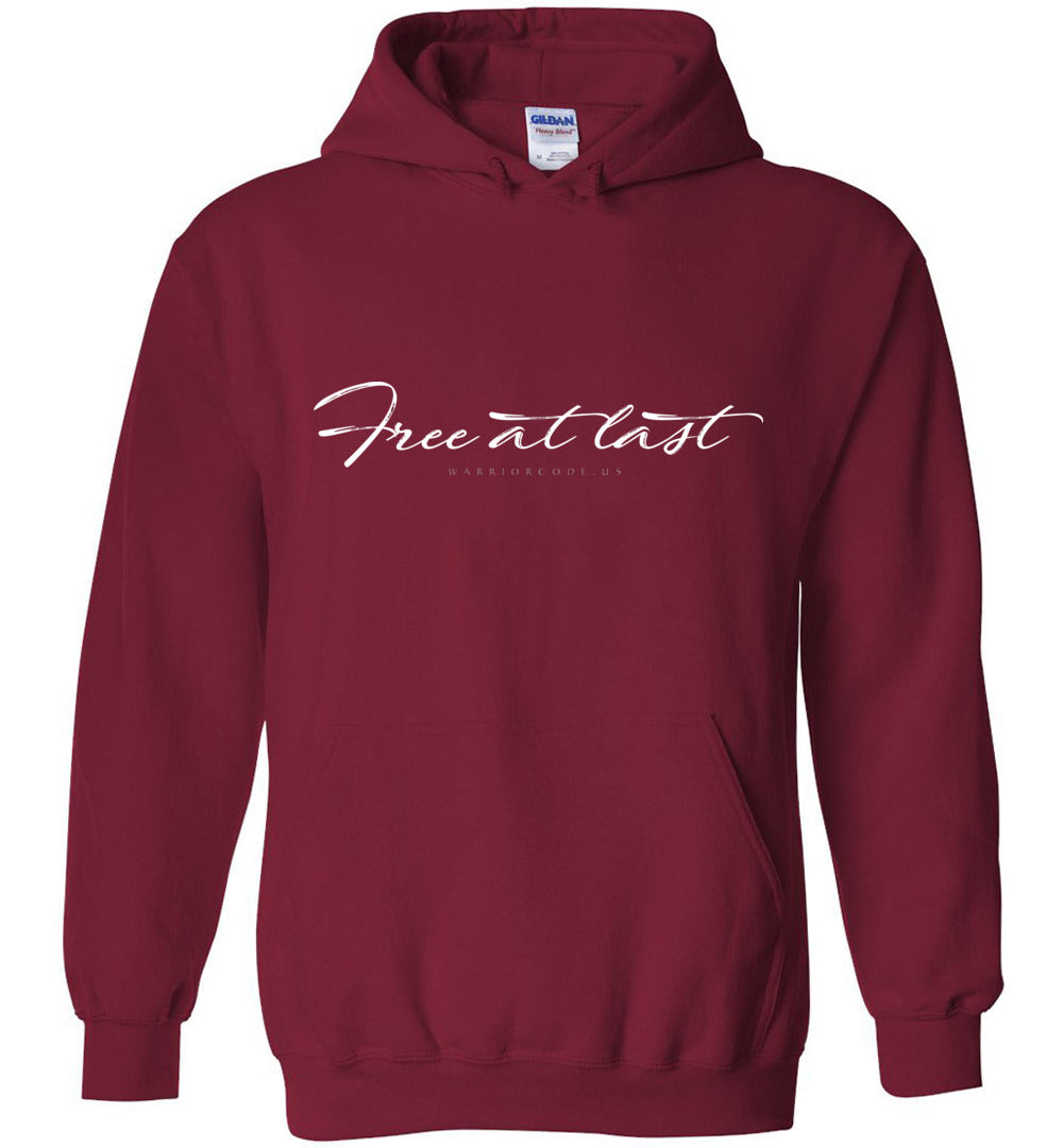 Free at Last Hoodie - Warrior Code