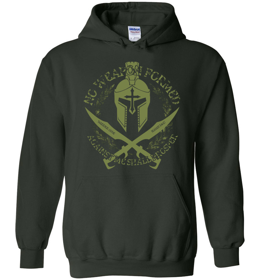 No Weapon Formed Hoodie - Warrior Code
