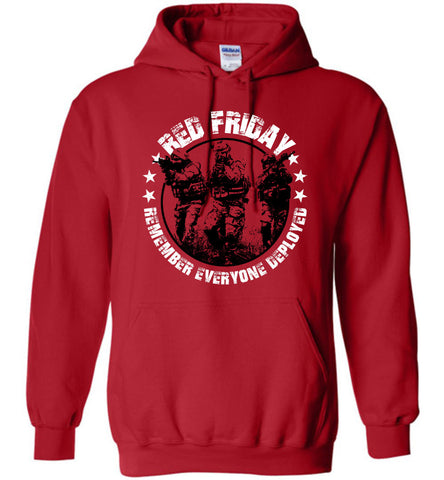 RED Friday Hoodie - Warrior Code