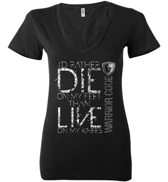 Die On My Feet Ladies Tee