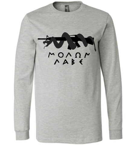 Snake & Gun Long Sleeve - Warrior Code