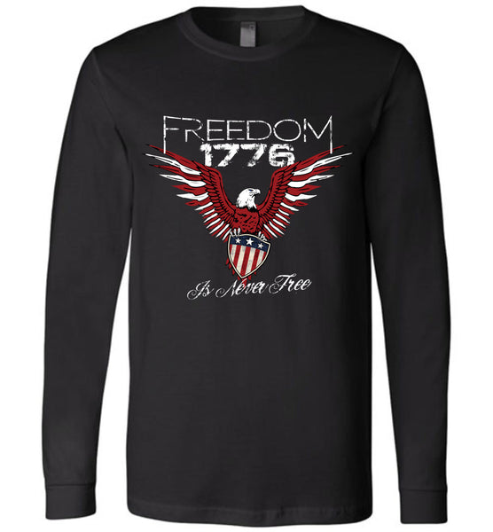 Freedom Is Never Free Ladies - Warrior Code