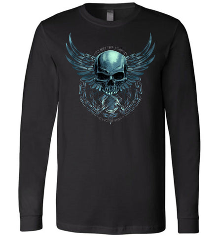 No Worse Enemy Long Sleeve - Warrior Code