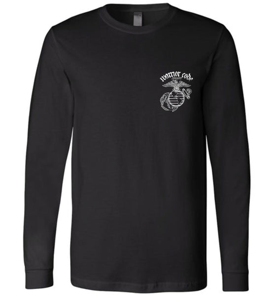 USMC Veteran Warrior Long Sleeve