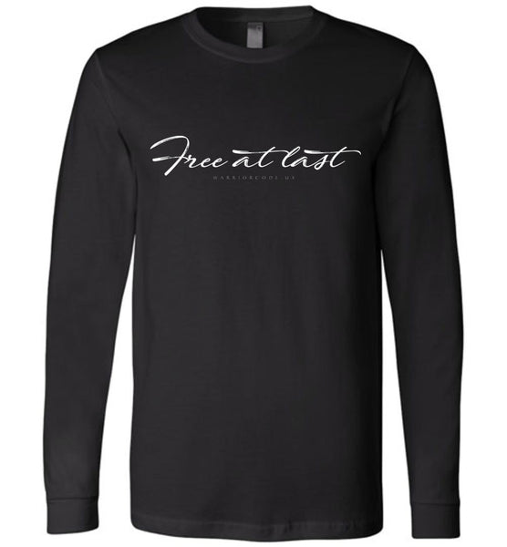 Free at Last Long Sleeve - Warrior Code