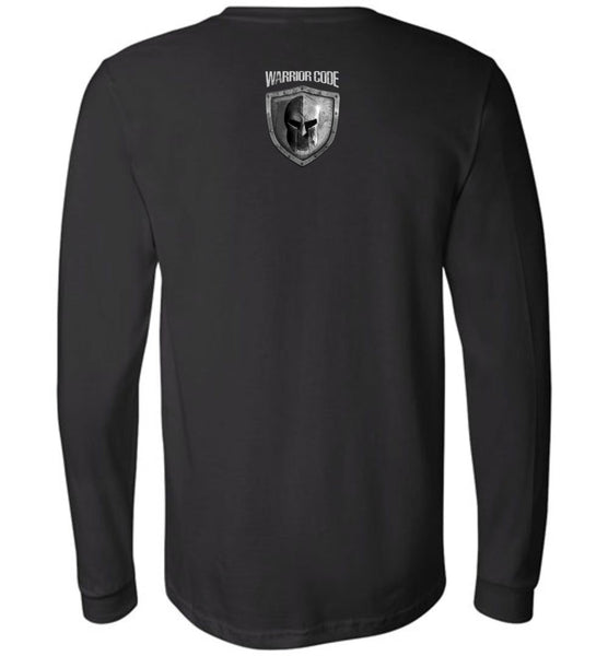 No Weapon Forged Long Sleeve - Warrior Code