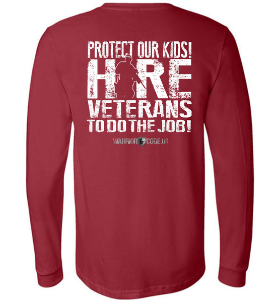 Protect Our Kids Long Sleeve - Warrior Code