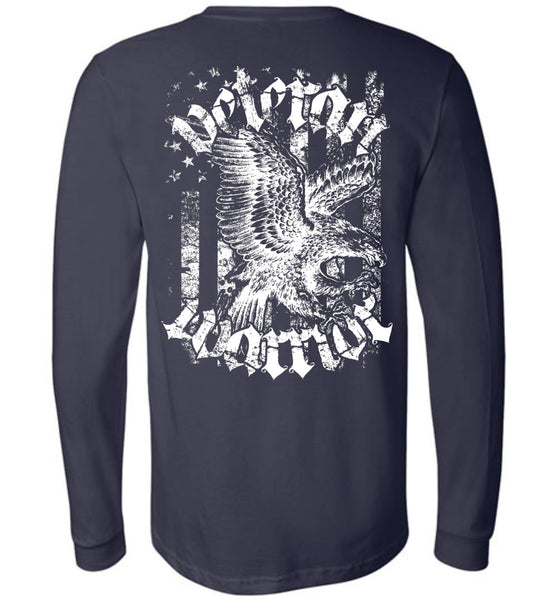 Navy Veteran Warrior Long Sleeve - Warrior Code