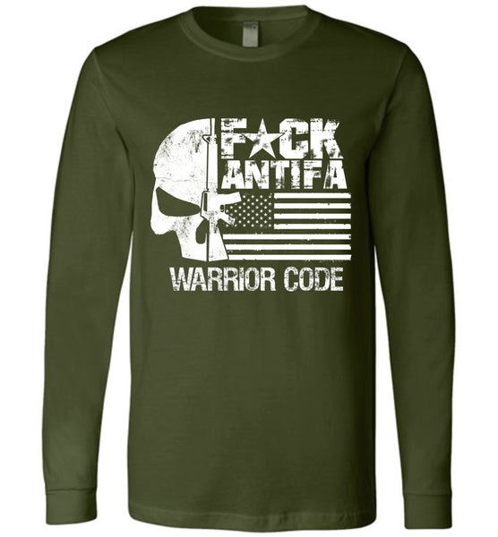 F*CK ANTIFA - Warrior Code