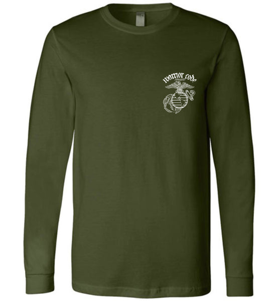 USMC Veteran Warrior Long Sleeve - Warrior Code