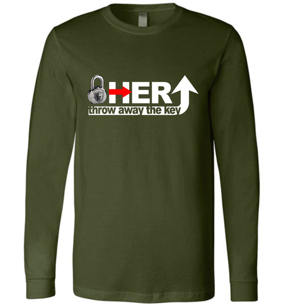 Lock Her Up 2 Long Sleeve - Warrior Code