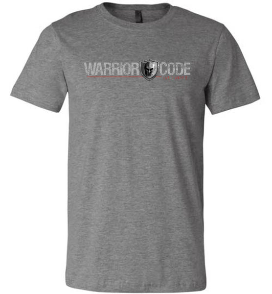 Warrior Code Logo and Shield TShirt