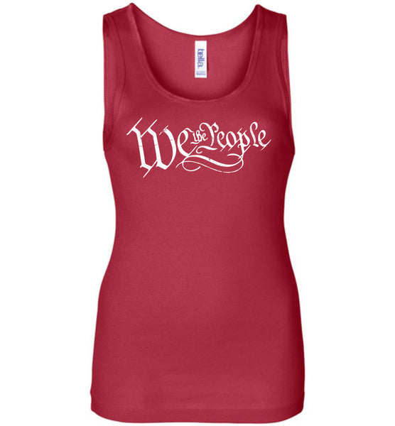 We The People Ladies Tank Top - Warrior Code
