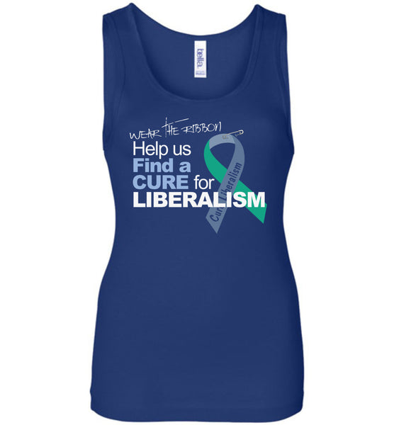 Find A Cure For Liberalism Women's - Warrior Code