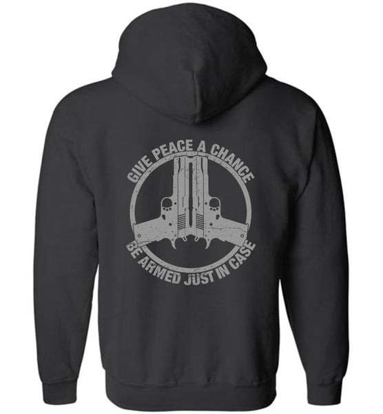 Give Peace A Chance Zip Hoodie