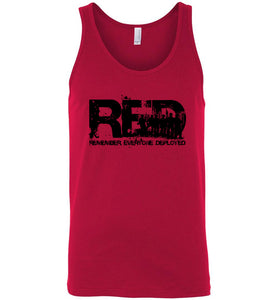 Red Friday Tank - Warrior Code