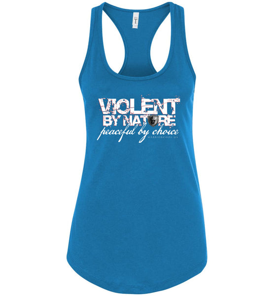 Violent by Nature Women's Tank - Warrior Code