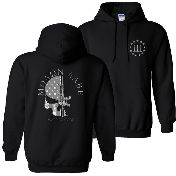 3 Percenter Skull & Gun Hoodies