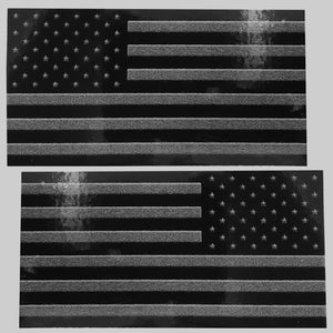 American Flag Decals (pair)