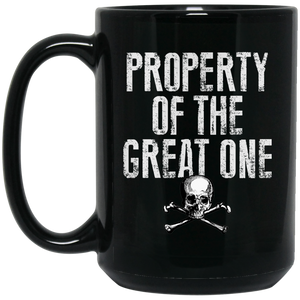 The Great One 15 oz. Black Mug - Warrior Code